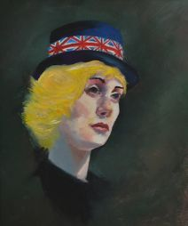 Brit  14x16  Oil on Board