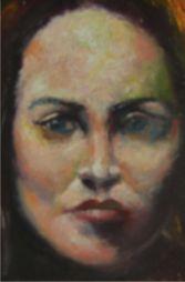 Girl  6.5 x 8 Oil on Board